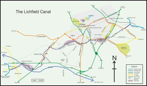 Lichfield Canal Sites Large